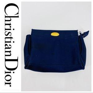 💕SALE💕 Christian Dior Navy Blue Makeup Bag